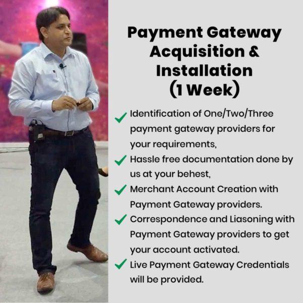 payment gateway acquisition services
