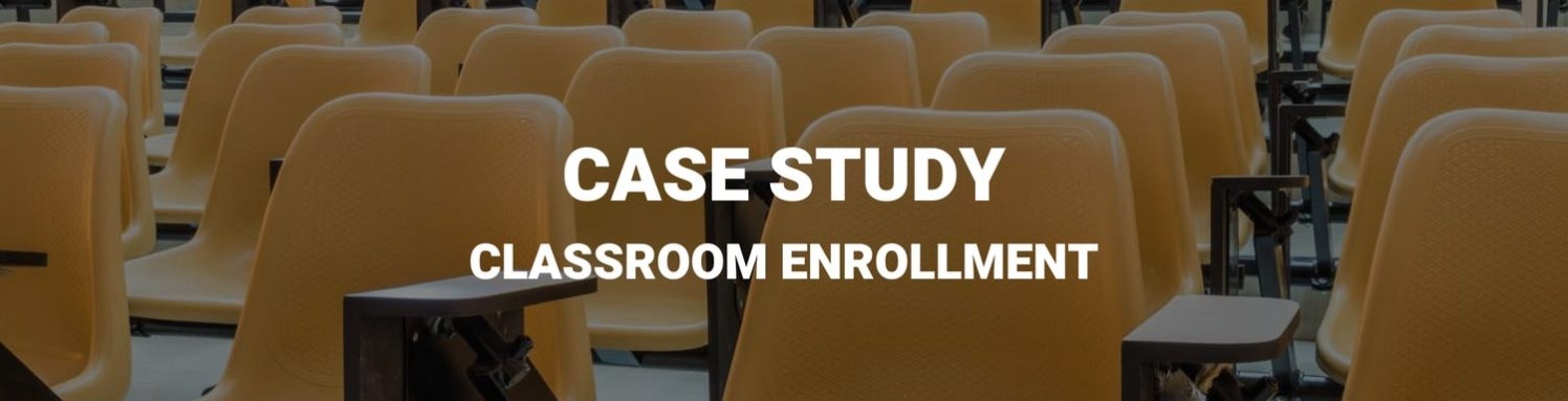 Classroom Enrollment by best digital marketing company in gurgaon