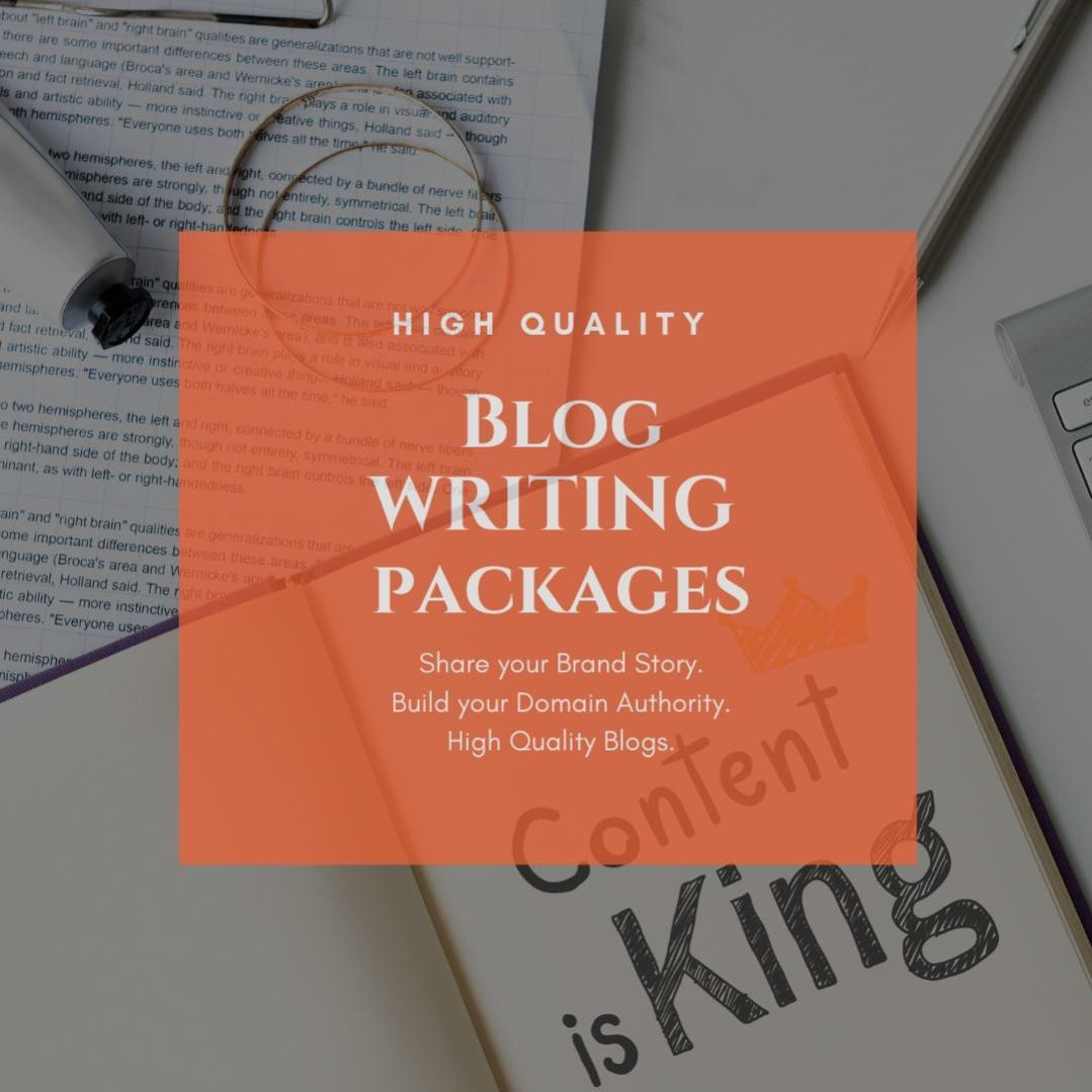 blog writing services packages blog content writing packages