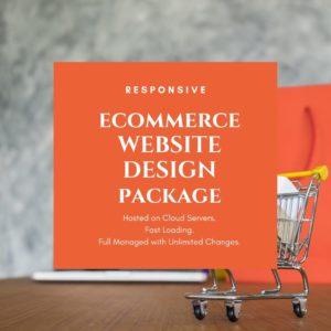 buy ecommerce website design package