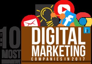 logo designers in delhi awarded as Most Innovative Digital Marketing Companies 2017