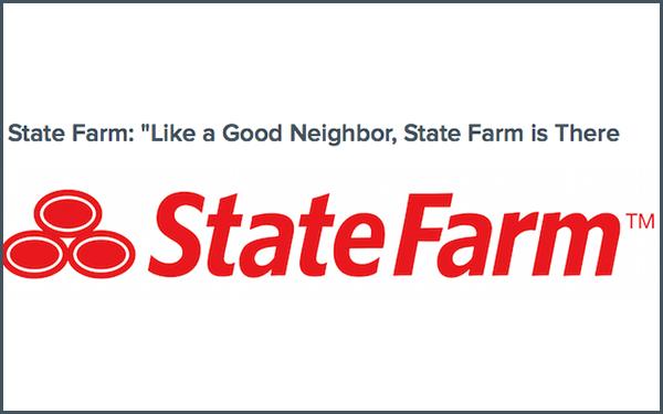 Statefarm the best tagline for business