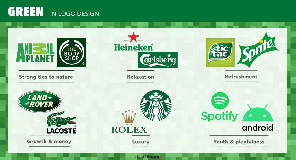 Green Colour Logo