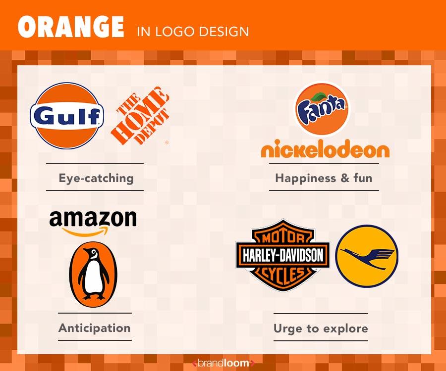 Orange Color Logo